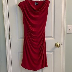 Adrianna Papell red/pink dress